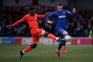 Joe Pigott fired AFC Wimbledon off the foot of the League One table by scoring the only goal in a 1-0 win at fellow strugglers Southend.