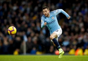 As they prepare for Swansea in the FA Cup Bernardo Silva says City always try to be positive even against teams who set out to defend.