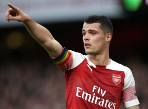Granit Xhaka has suggested he is looking to move on from Arsenal and take the 'next step' in his career.
