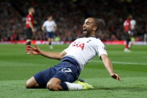 Lucas Moura is confident Tottenham can secure a top four finish and says Champions League qualification is their priority.