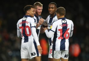Chris Brunt scored one and made another on his return to the West Brom side in the 3-0 Sky Bet Championship win over Swansea at the Hawthorns.