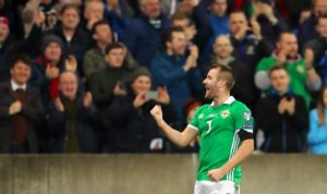 Niall McGinn is looking to continue his momentum for Aberdeen after netting his first home international goal for Northern Ireland.