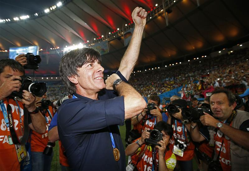 Joachim Low feels the way Germany battled right to the end to beat the Netherlands is part of a rebuilding process for the team.