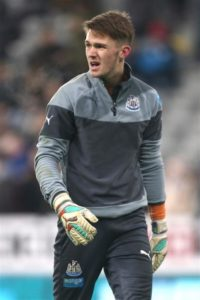 Newcastle United goalkeeper Freddie Woodman has emerged as a transfer target for Arsenal and Celtic, reports claim.