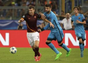 AS Roma will have no shortage of takers if they decide to offload Bosnian ace Edin Dzeko in the summer.
