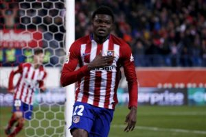 Inter Milan are being linked with a swoop for Atletico Madrid midfielder Thomas Partey, but face strong competition.
