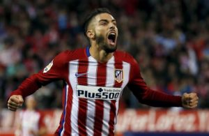 Arsenal are reported to be weighing up a fresh move for Yannick Carrasco when the transfer window opens again in the summer.