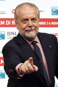 Napoli president Aurelio De Laurentiis has told interested parties that he has no intention of allowing forward Lorenzo Insigne to leave.