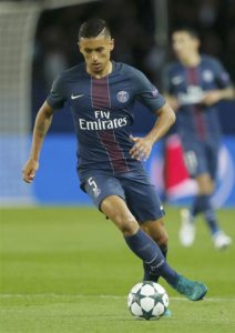 Former PSG midfielder Fabrice Abriel believes Marquinhos has shone for the club this season in his new role in midfield.