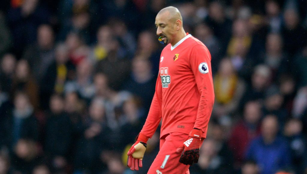 Javi Gracia says his choice of goalkeeper for the FA Cup quarter-final against Crystal Palace will not be swayed by sentiment.