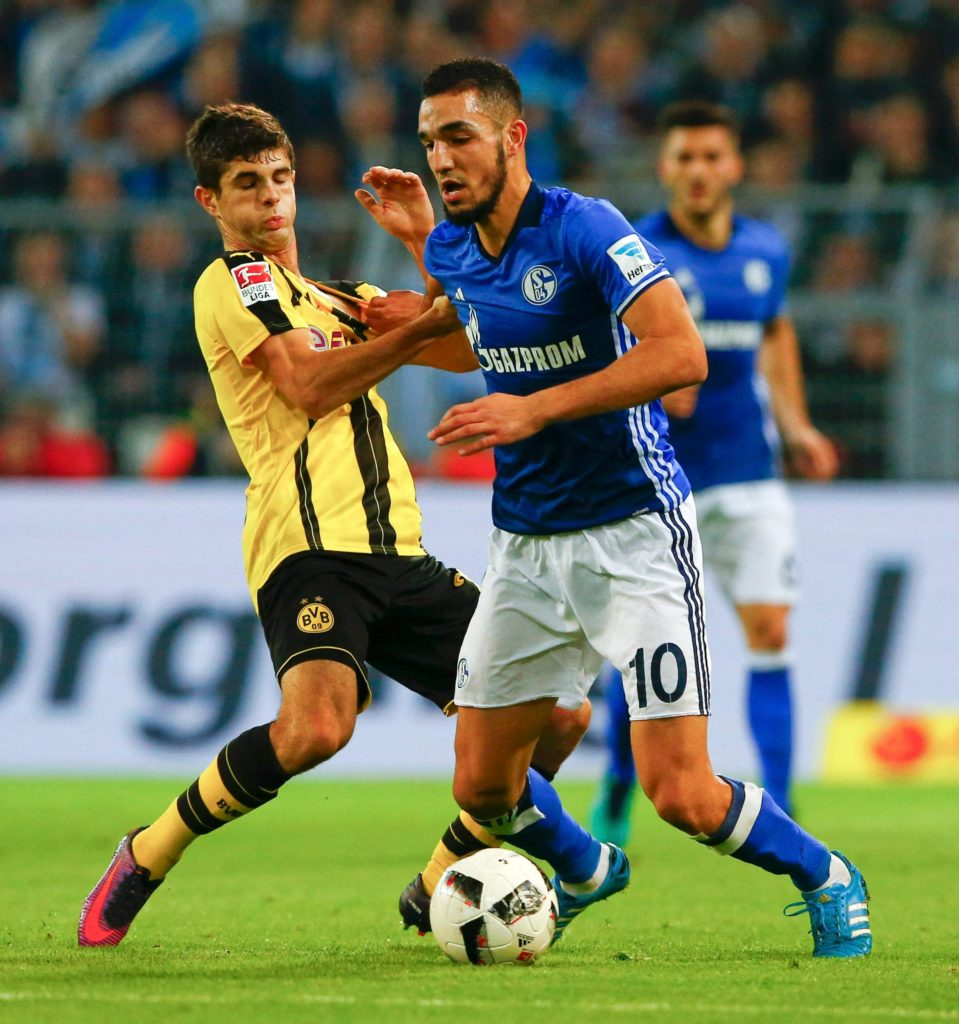 Midfielder Nabil Bentaleb has been dropped to the Schalke Under-23 side for 'disciplinary reasons', according to a club statement.