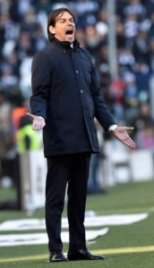Lazio boss Simone Inzaghi could not hide his anger after his side dropped two points against Fiorentina.