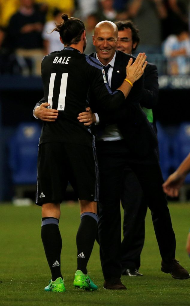 Zinedine Zidane says a decision regarding Gareth Bale's long-term future at Real Madrid will be made at the end of the season.