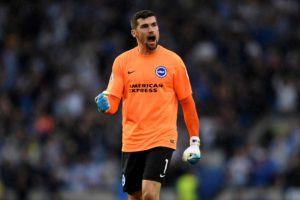 Brighton goalkeeper Mat Ryan says all the pressure is on Manchester City as they head into the FA Cup semi-final at Wembley.