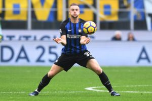 Atletico Madrid are believed to be considering Inter Milan defender Milan Skriniar as the ideal replacement for Diego Godin.