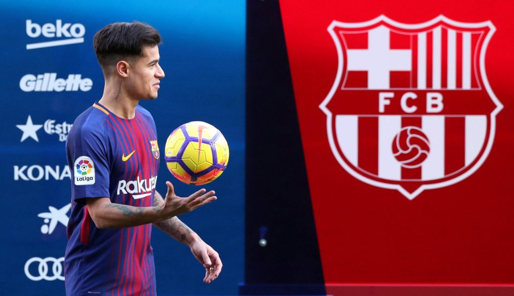 Philippe Coutinho was pleased with the way he played against Lyon on Wednesday but has refused to rule out leaving Barcelona.
