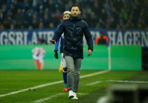 Schalke's humiliating 7-0 loss to Manchester City could spell the end for their under-fire manager Domenico Tedesco.