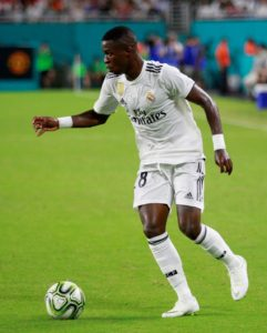 Brazilian Vinicius Junior says he could have joined Barcelona last summer but was persuaded to move to Real Madrid by two compatriots.