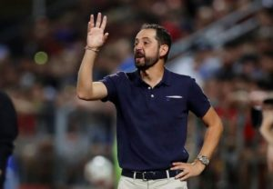Sevilla have dismissed coach Pablo Machin following their Europa League exit at the hands of Slavia Prague on Thursday.