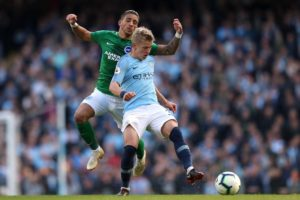 Oleksandr Zinchenko is to be rewarded in the coming weeks with a new double-your-money deal to stay at Manchester City.