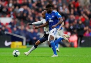 Cardiff defender Bruno Ecuele Manga has been called up by Gabon for their upcoming African Cup of Nations qualifier against Burundi.