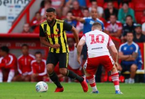 Adrian Mariappa is relishing his return to the side on a regular basis under 'spot-on' Watford head coach Javi Gracia.