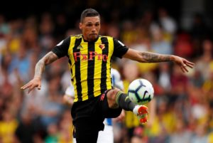 Jose Holebas could go straight back into the Watford side for Sunday's Premier League visit of Leicester after returning from a ban.