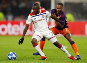 Lyon president Jean-Michel Aulas has revealed he would consider selling midfielder Tanguy Ndombele if the right offer was made.