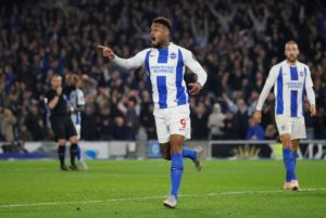 Brighton forward Jurgen Locadia is looking forward to next month's FA Cup semi-final showdown with Manchester City at Wembley.