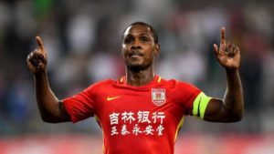 Shanghai Shenhua striker Odion Ighalo has claimed he turned down a move to Barcelona in January as he didn't want to play a bit-part role.