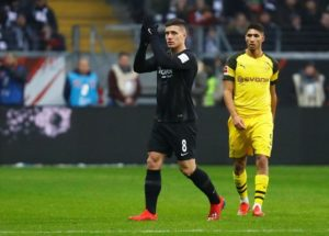 Barcelona are reportedly interested in tying up a deal to sign in-form striker Luka Jovic from Eintracht Frankfurt.