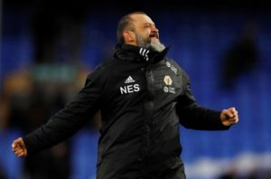 Nuno Espirito Santo saluted his Wolves players as they beat Manchester United 2-1 to make the FA Cup semi-finals.