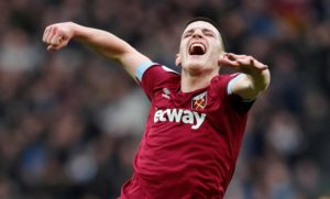 Declan Rice says he is loving life at West Ham after winning the Young Player of the Year accolade at the London Football Awards.