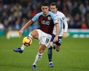 Two teams still looking over their shoulder at the relegation zone meet on Saturday, as Burnley face Crystal Palace at Turf Moor.