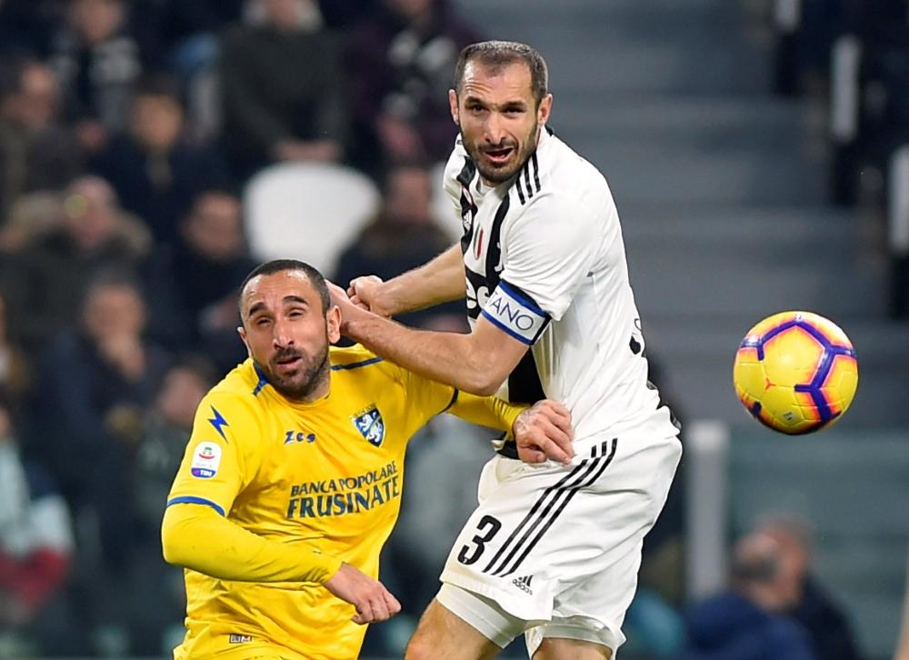 Juventus defender Giorgio Chiellini is facing six months out.