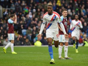 Crystal Palace boss Roy Hodgson has told Wilfried Zaha he wants another five goals after he shone in the 3-1 win at Burnley.