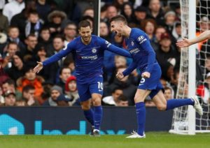 Fulham were unable to win their first game under the charge of Scott Parker as they were beaten 2-1 at home by Chelsea.
