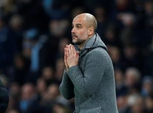 Pep Guardiola says all he can do is pray that his international stars come back fit and healthy in two weeks' time.