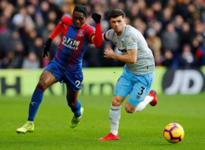 Crystal Palace are sweating over the fitness of Aaron Wan-Bissaka after he was forced to pull out of the England under-21 squad.