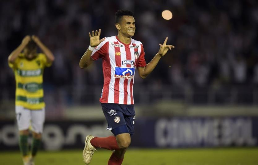 The agent of Colombian left-winger Luis Diaz claims Cardiff City scouted the 22-year-old in a Copa Libertadores tie this week.