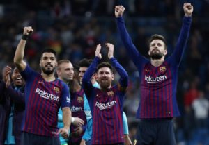 Lionel Messi scored two goals and set up two more as Barcelona beat Lyon 5-1 in the Champions League on Wednesday night.