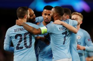 Manchester City smashed Schalke 7-0 at the Etihad Stadium to book their place in the Champions League quarter-finals 10-2 on aggregate.