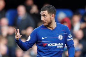 Eden Hazard says he is not distracted by speculation over his future and is focused on seeing out the season with Chelsea.