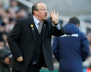 Rafael Benitez Newcastle were denied two points by the referee, despite snatching a dramatic 2-2 draw at Bournemouth.