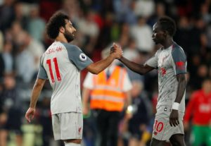 Jurgen Klopp believes Sadio Mane can help inspire team-mate Mohamed Salah to rediscover his goalscoring form for Liverpool.