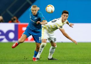 Leicester target Eljif Elmas scored a fine goal in front of Foxes scouts as Macedonia beat Latvia in a Euro 2020 qualifier on Thursday.