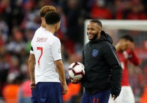 Gareth Southgate feels Raheem Sterling is developing the leadership qualities to become an influential figure for England, on and off the pitch.