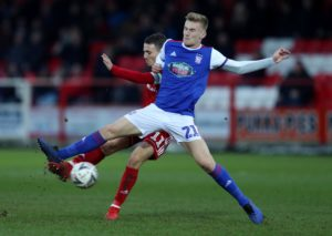 Ipswich boss Paul Lambert has hailed the club's decision to hand academy graduate Flynn Downes a new contract.
