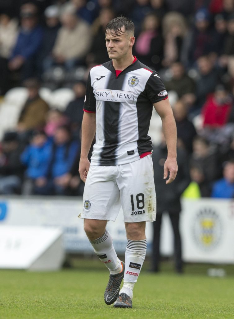St Mirren forward Danny Mullen felt his first away goal of the season was the best way to silence the hecklers at his old club Livingston.