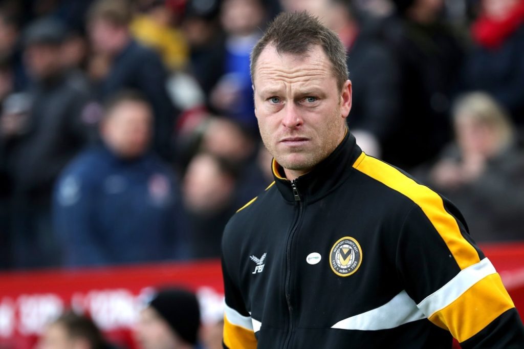 Newport boss Michael Flynn was refusing to get carried away after his side's 2-0 home win over Oldham pushed them into the play-off places with one game to go.
